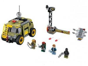 obrázek Lego 79115 Ninja Turtles Zničení želví dodávky