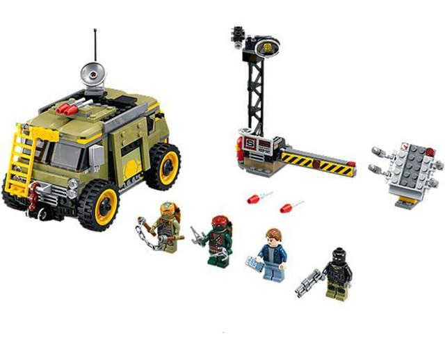 Lego 79115 Ninja Turtles Zničení želví dodávky