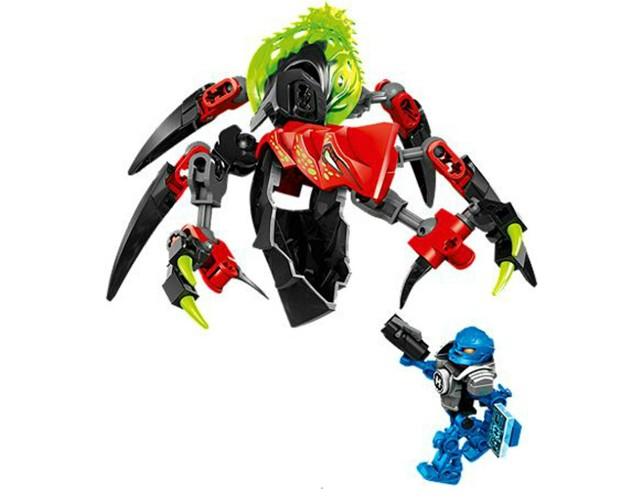 Lego 44024 Hero Factory Monstrum TUNELÁŘ versus SURGE