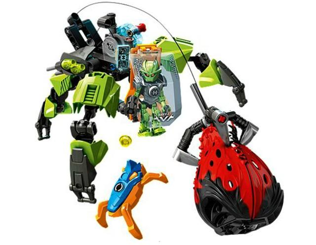 Lego 44027 Hero Factory Bleší stroj Breez