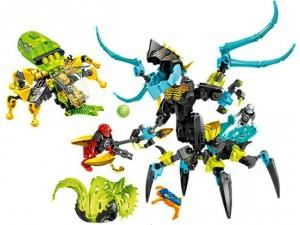 obrázek Lego 44029 Hero Factory Monstrom Královna versus Furno, Evo a Stormer