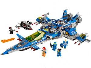 obrázek Lego 70816 Movie Bennyho vesmírná loď