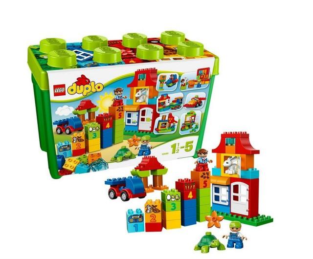 Lego 10580 Duplo Zábavný box Deluxe