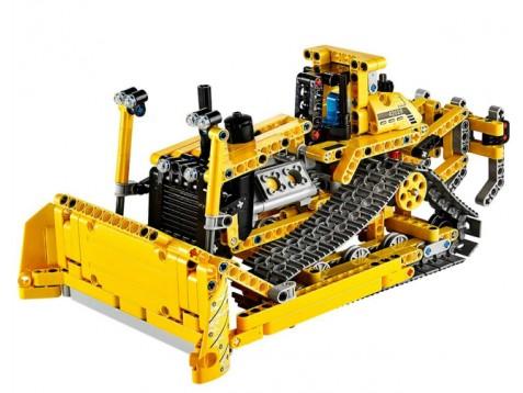 lego 42028 technic buldozer lego a. Black Bedroom Furniture Sets. Home Design Ideas