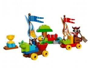 obrázek Lego 10539 Duplo Pirát Jake Závody na pláži
