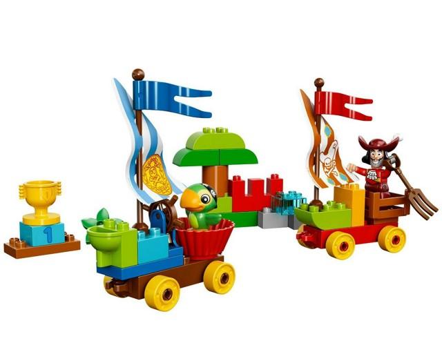 Lego 10539 Duplo Pirát Jake Závody na pláži