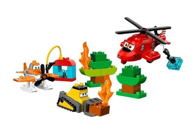 Lego 10538 Duplo Planes Hasiči a záchranáři