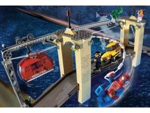 obrázek Lego 4852 Spiderman Souboj na mostě