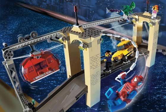 Lego 4852 Spiderman Souboj na mostě