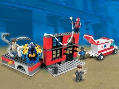Lego 4857 Spiderman Tavící laboratoř