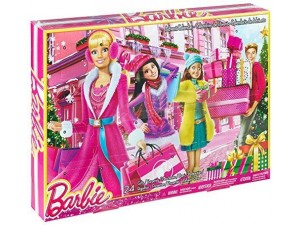 obrázek Mattel Barbie adventní kalendář 2014