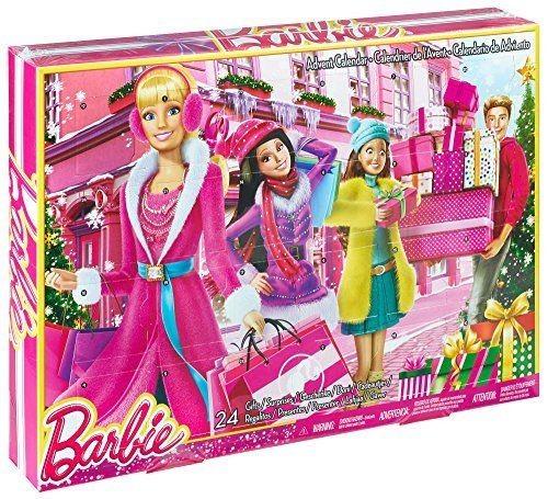Mattel Barbie adventní kalendář 2014