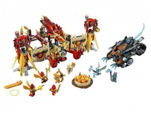 obrázek Lego 70146 Chima Létající ohnivý chrám Fénix