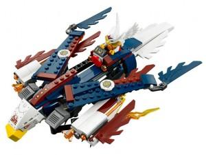 obrázek Lego 70142 Chima Erisino ohnivé orlí letadlo