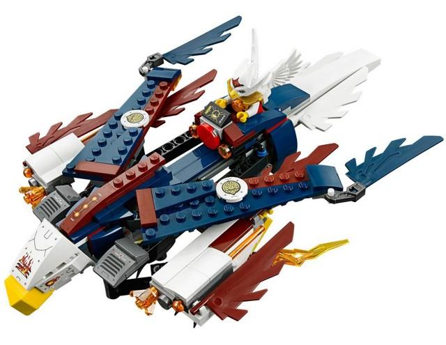Lego 70142 Chima Erisino ohnivé orlí letadlo