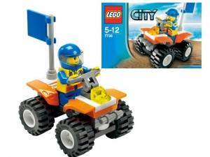 obrázek Lego 7736 Pobřežní hlídka čtyřkolka