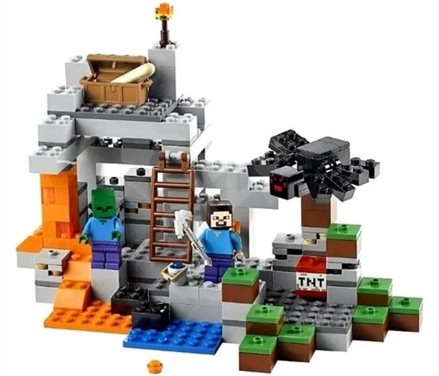 Lego 21113 Minecraft Jeskyně