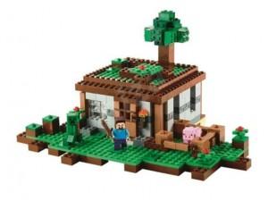 obrázek Lego 21115 Minecraft První noc