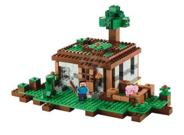 Lego 21115 Minecraft První noc