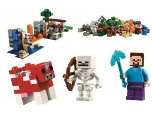 obrázek Lego 21116 Minecraft Crafting Box
