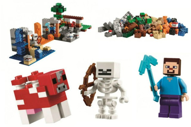 Lego 21116 Minecraft Crafting Box