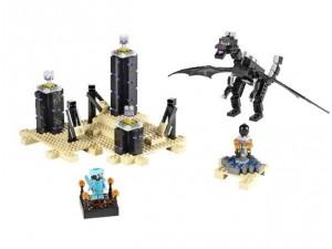 obrázek Lego 21117 Minecraft Drak Ender