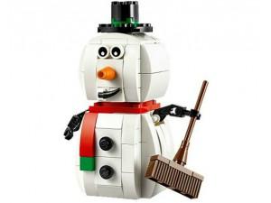 obrázek Lego 40093 Sněhulák
