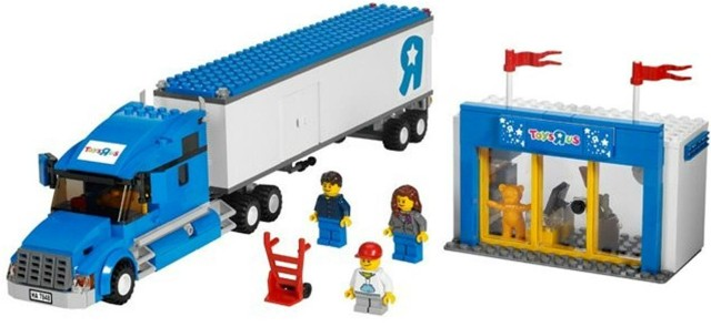 Lego 7848 City Kamion