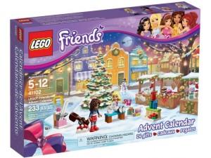 obrázek LEGO 41102 Friends Adventní kalendář