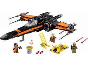 obrázek Lego 75102 Star Wars Poe's X-Wing Fighter