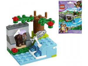 obrázek Lego 41046 Friends Řeka medvědů hnědých