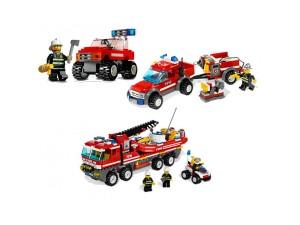 obrázek Lego Superpack 66342 HASIČI 3v1