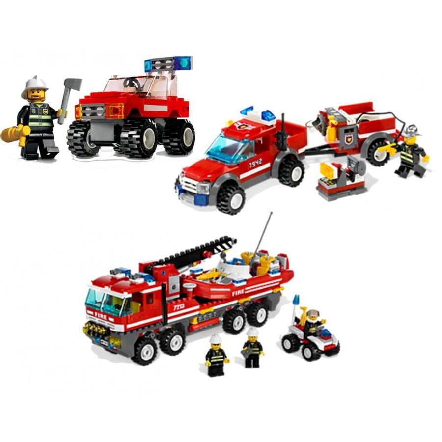Lego Superpack 66342 HASIČI 3v1
