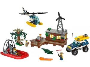 obrázek LEGO City 60068 Úkryt zlodějů