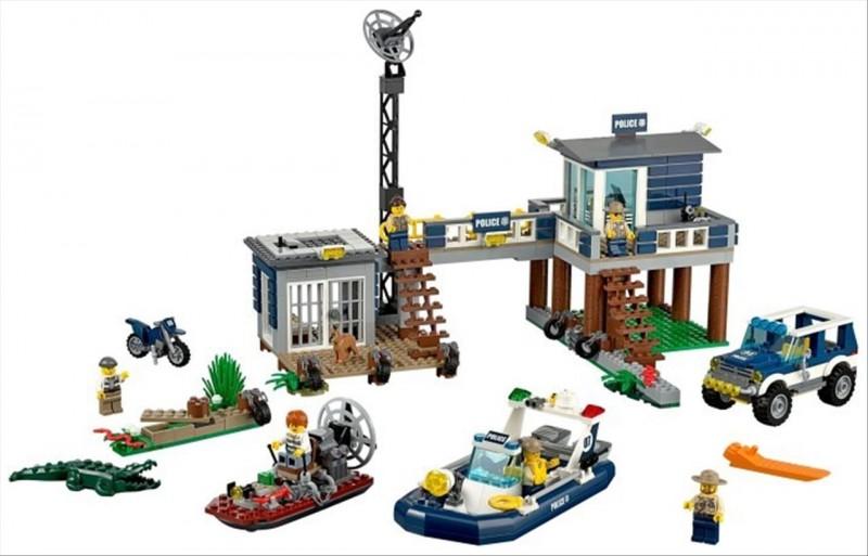 Lego 60069 City Stanice speciální policie