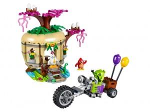 obrázek LEGO 75823 ANGRY BIRDS Krádež vajíček na ptačím ostrově letadlový útok