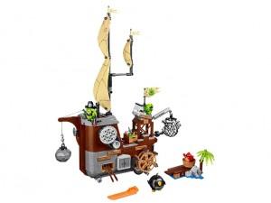 obrázek LEGO 75825 ANGRY BIRDS Piggyho pirátská loď
