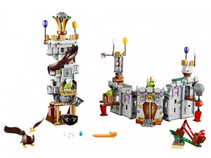 obrázek LEGO 75826 ANGRY BIRDS Hrad krále Prasete