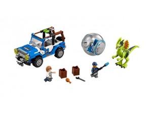 obrázek Lego 75916 Jurassic World Útok Dilophosaura