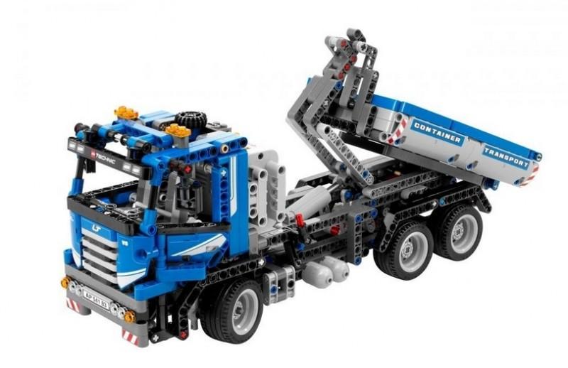 Lego 8052 Nákladní vůz s kontejnerem