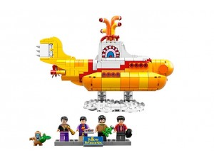 obrázek LEGO 21306 IDEAS Žlutá ponorka