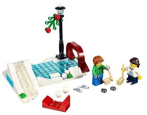 Lego 41007 Christmas Ice Skating