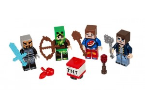 obrázek LEGO 853609 Minecraft Skin Pack