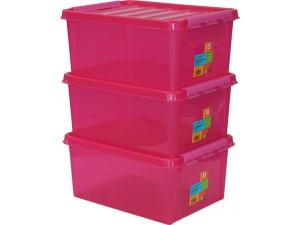 obrázek SmartStore™ Colour 15 - set 3ks růžový