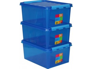 obrázek SmartStore™ Colour 15 - set 3ks modrý