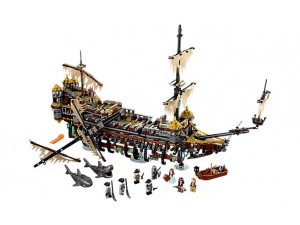 obrázek Lego 71042 Piráti z Karibiku Silent Mary