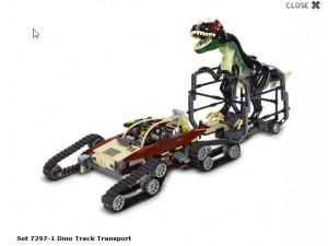 obrázek Lego 7297 Transportér dinosaurů