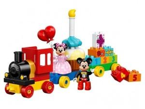 obrázek Lego Duplo 10597 Mickey a Minnie narozeninový vlak