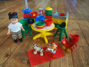 obrázek Lego Duplo Dolls 2955 Sarah's Big Recipe