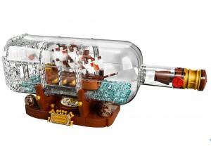obrázek LEGO 21313 IDEAS Plachetnice v láhvi